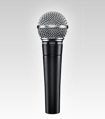 Shure_SM58_microphone
