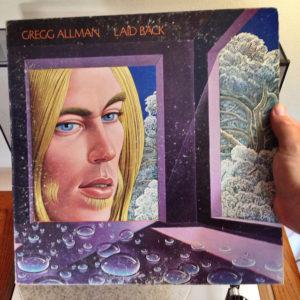 Gregg Allman died image of albumn cover